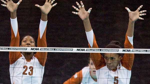 Rachael Adams (right) named to 2016 Olympic Volleyball Team.
