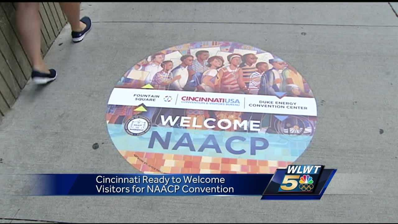 "As the kickoff party for the 107th NAACP convention gets underway at Duke Energy Convention Center, security is operating at the ""highest level of strategy"" in the wake of Thursday night's attack and carnage in Nice, France."