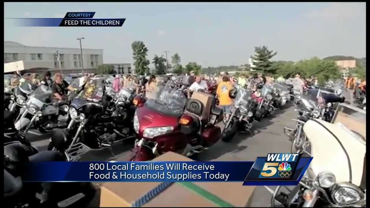 Bikers ride for Feed The Children Wednesday