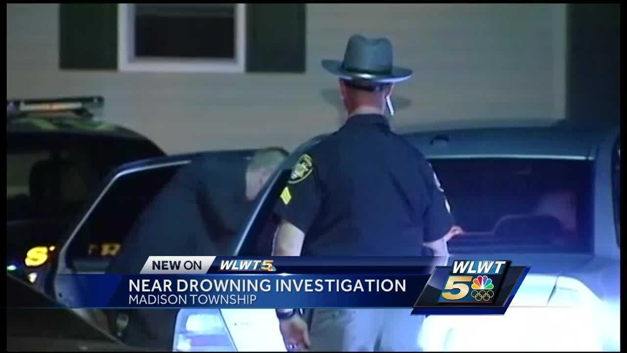 A grandfather's frantic 911 call was released Friday after his grandson nearly drowned in a bathtub Thursday night.