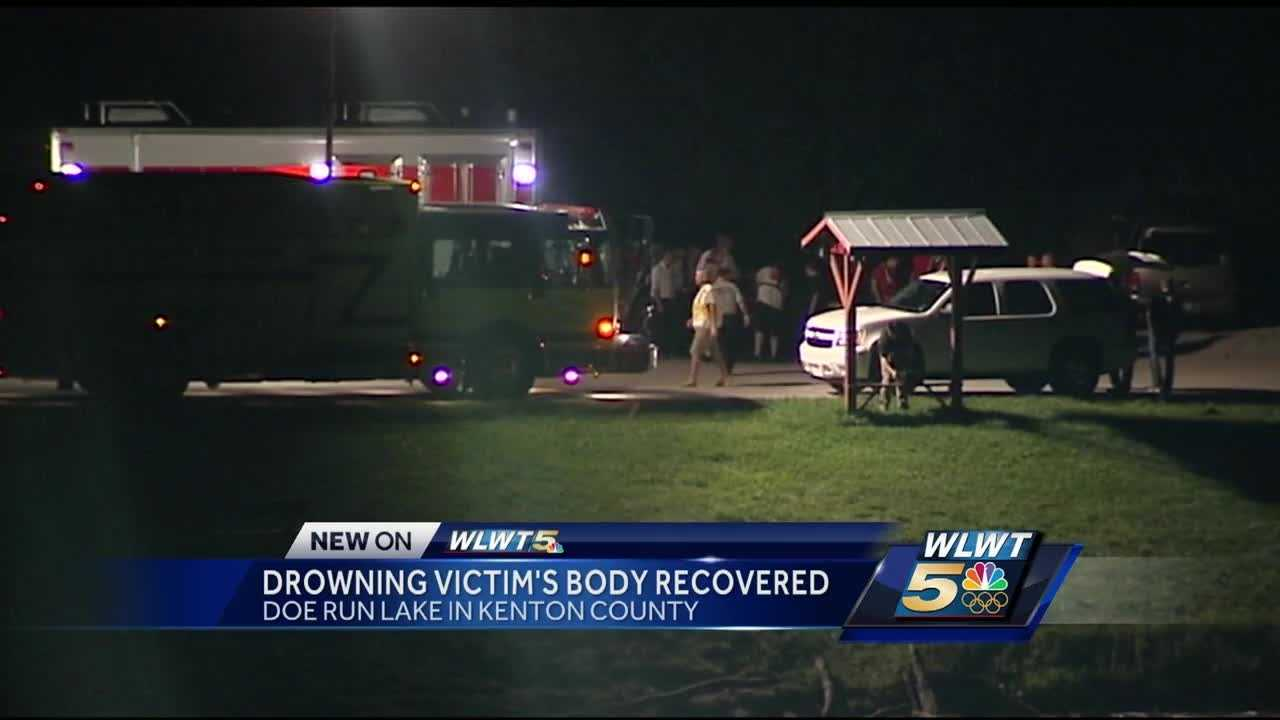 A man is believed to have drowned while attempting to swim across a Kenton County lake.
