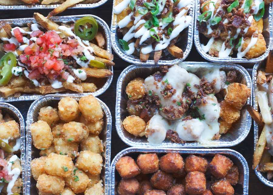Nation Kitchen and Bar has burgers, sandwiches, tots, fries and beer.