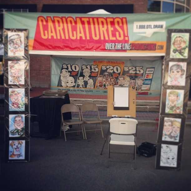 Over the Line Productions, an arts and entertainment company providing special event services to Ohio and the surrounding area, will provide caricatures at Taste of OTR. Facebook