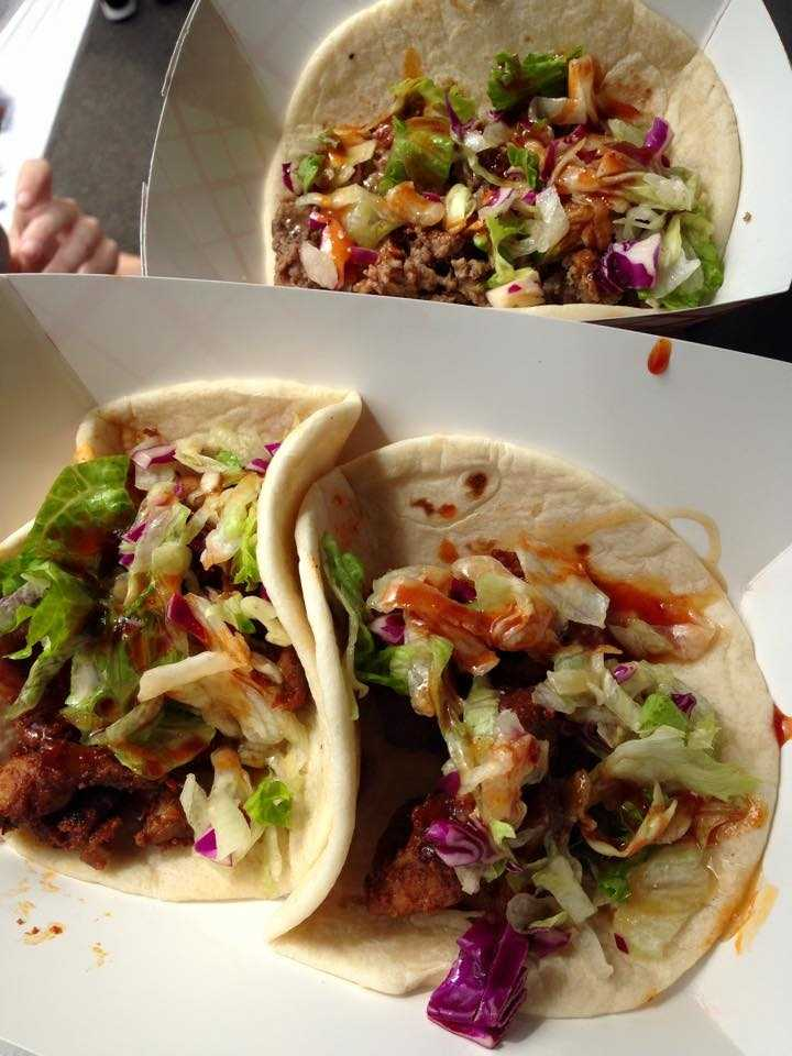 Korean BBQ taco truck. Facebook.