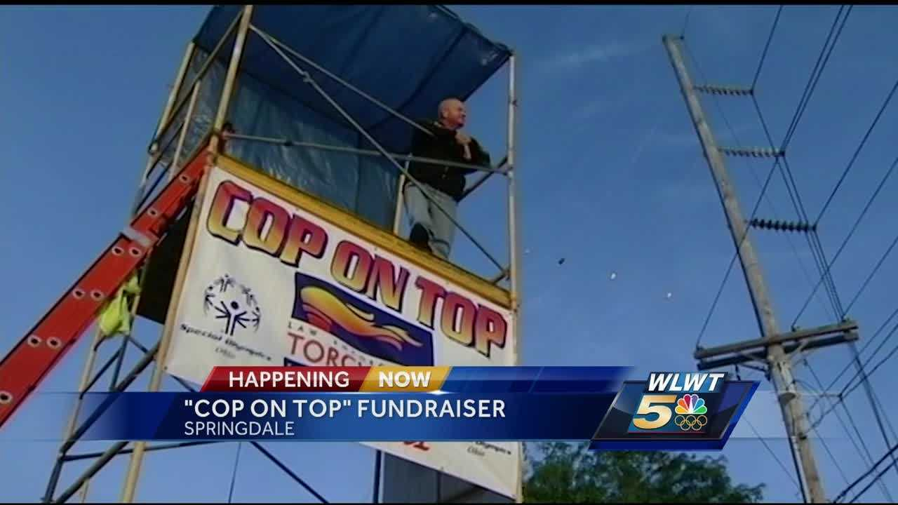 This is the seventh year both the Springdale police department and Walgreens are taking part. Area police chiefs and officers will take turns sitting on top of scaffolding to raise money for the Special Olympics.