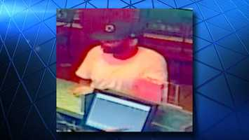 CrimeStoppers released photos of a man they said robbed a Cincinnati LaRosa's Aug. 7. Anyone who recognizes this man is asked to contact CrimeStoppers.