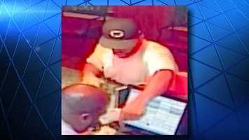 CrimeStoppers released photos of a man they said robbed a Cincinnati LaRosa's Aug. 7. Anyone who recognizes this man is asked tocontact CrimeStoppers.
