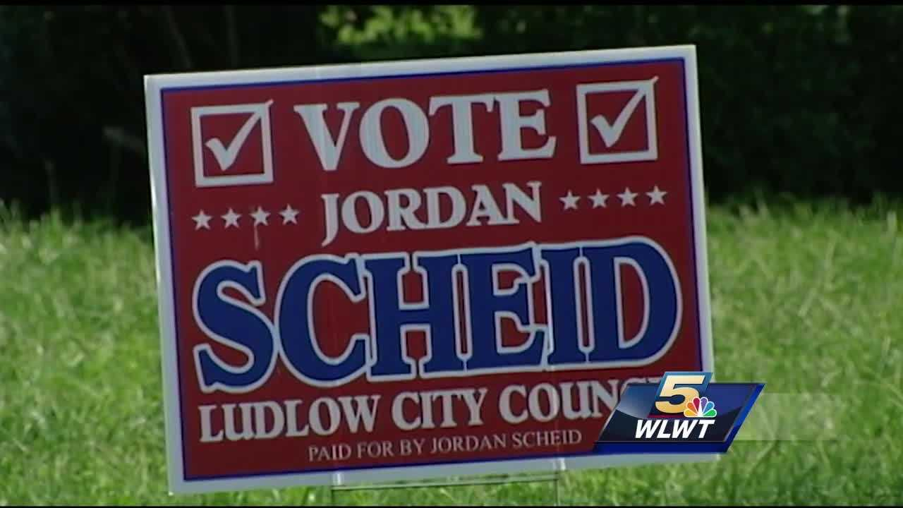 A Ludlow, Kentucky teenager is making his political debut. Jordan Scheid is just 18 years old and is running for city council.