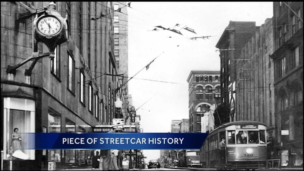 Earl Clark and Bill Myers rode the last streetcar to make its rounds in Cincinnati in 1951, and both came to ride the first one to go back in service Friday.