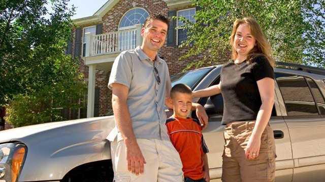 Family vacation roadtrip