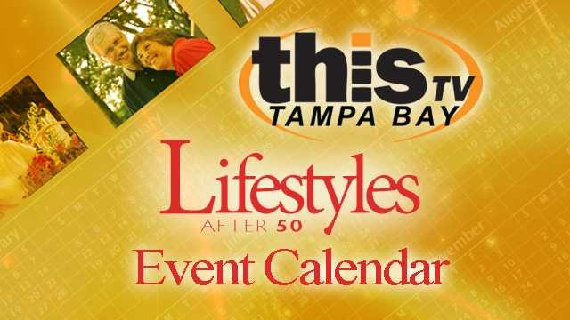 Lifestyles After 50 Event Calendar graphic
