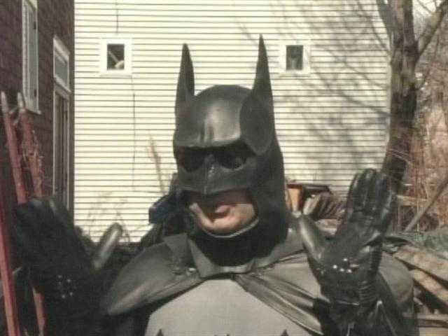 A man known as the Bar Harbor Batman was arrested by police after an April Fools' joke gone wrong.