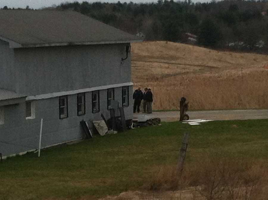 Crews battled a fire at the Maine Correctional Center in Windham on Monday morning.