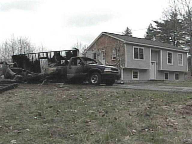 April 8: The fourth fire broke out in a garage at 215 Buck Street.