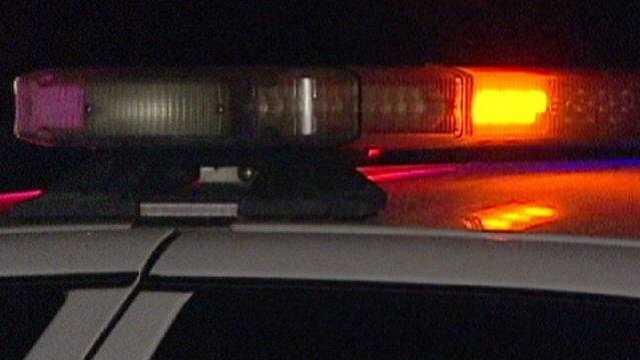 Police lights night generic