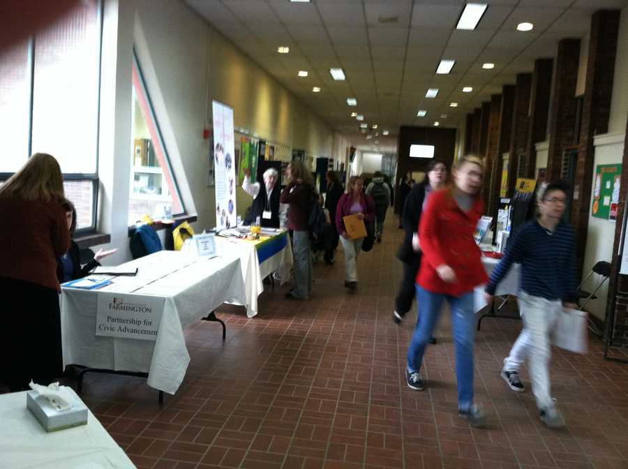 The school expanded the job fair to include career opportunities in education, business and human services.