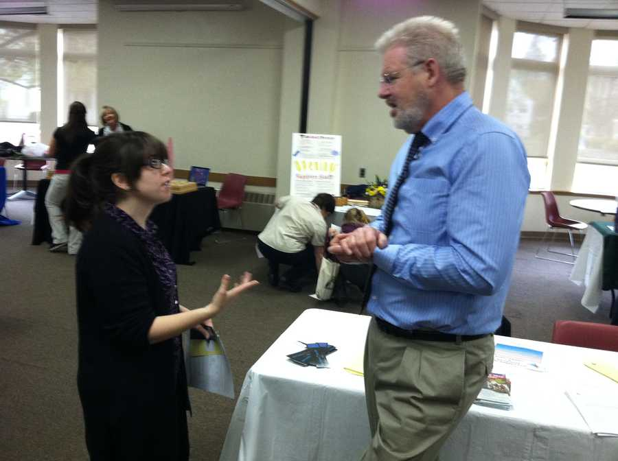 30 employers took part in the job fair
