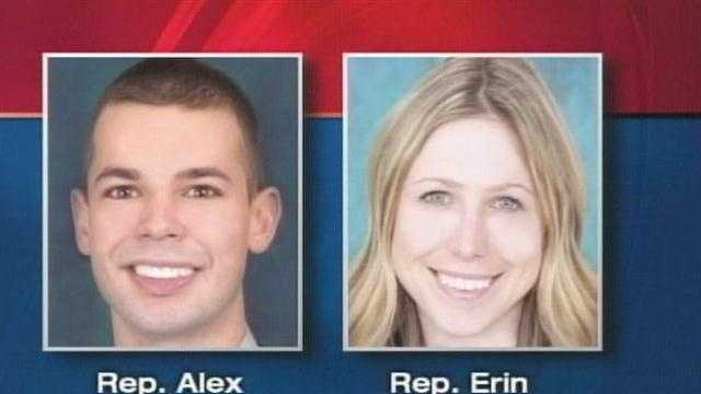 State Representative Erin Herbig has taken out an order for protection against fellow lawmaker Alex Cornell Du Houx. News 8's Paul Merrill reports.