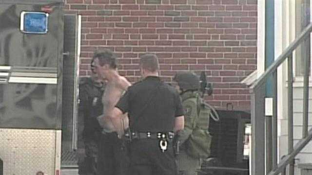 Portland Police have apprehended the alleged shooter from an incident on Cedar St. News 8's Norm Karkos reports