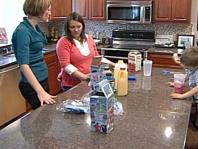 Upon further testing, News 8's Shannon Moss made Slushy Magic for her two boys at home.