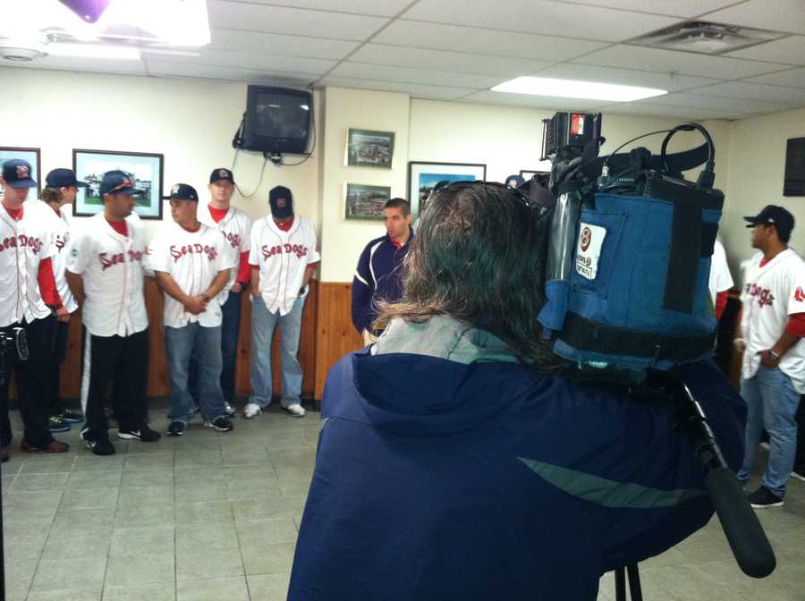 The annual kick-off news conference was held Wednesday at Hadlock Field in Portland.
