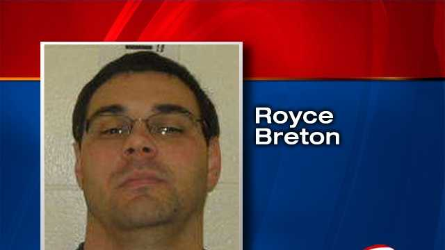 A jury found Royce Breton guilty of production, distribution and possession of child pornography.