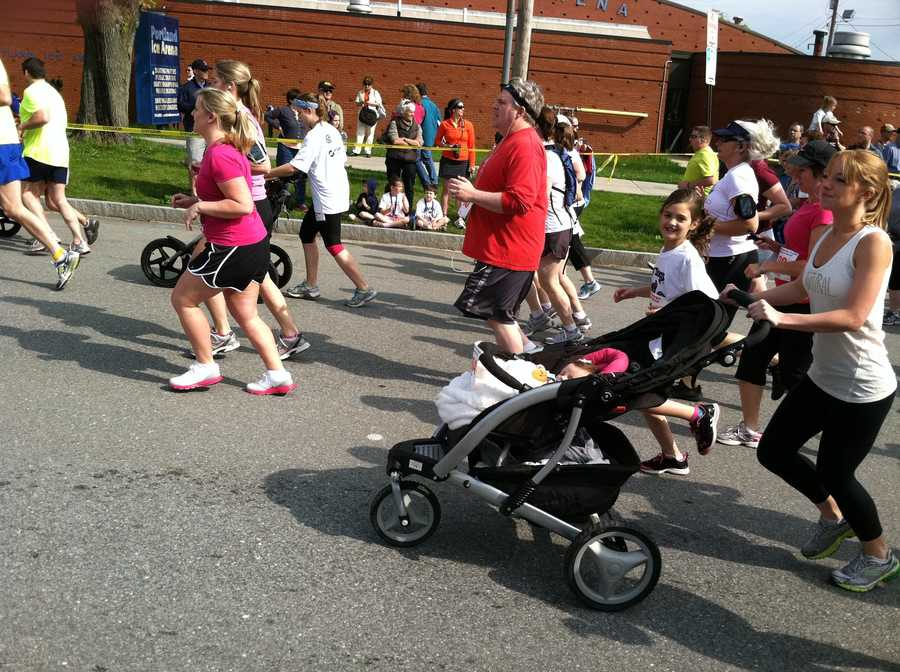The event included a free kids fun run.