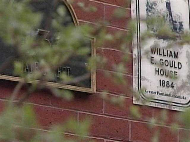 """""""He worked for a bank. He built the place in 1884 and in 1886, having lived here barely two years, he was found to have embezzled over $27,000 from the Maine First National Bank,"""" said Adams."""