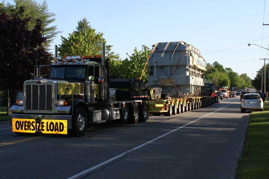 Transformer taken from Greene to Lewiston