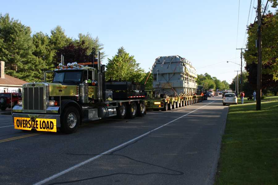 Transformer traveled on Route 202