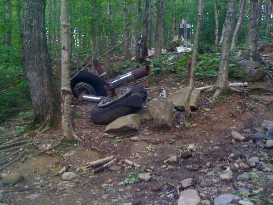 The Maine Forest Service said Tuesday that ranger Bruce Reed found the seat on an overgrown logging road while hunting last fall on Elephant Mountain near Greenville.