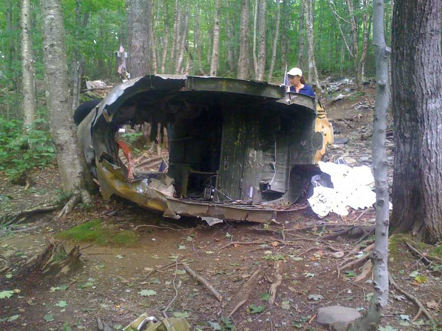 The forest service says the seat is the one that probably saved the life of either the jet's pilot or its navigator.