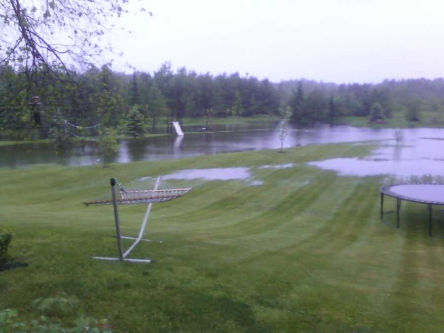 Take a look at this backyard in Buxton.