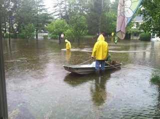 Flooding in Bath