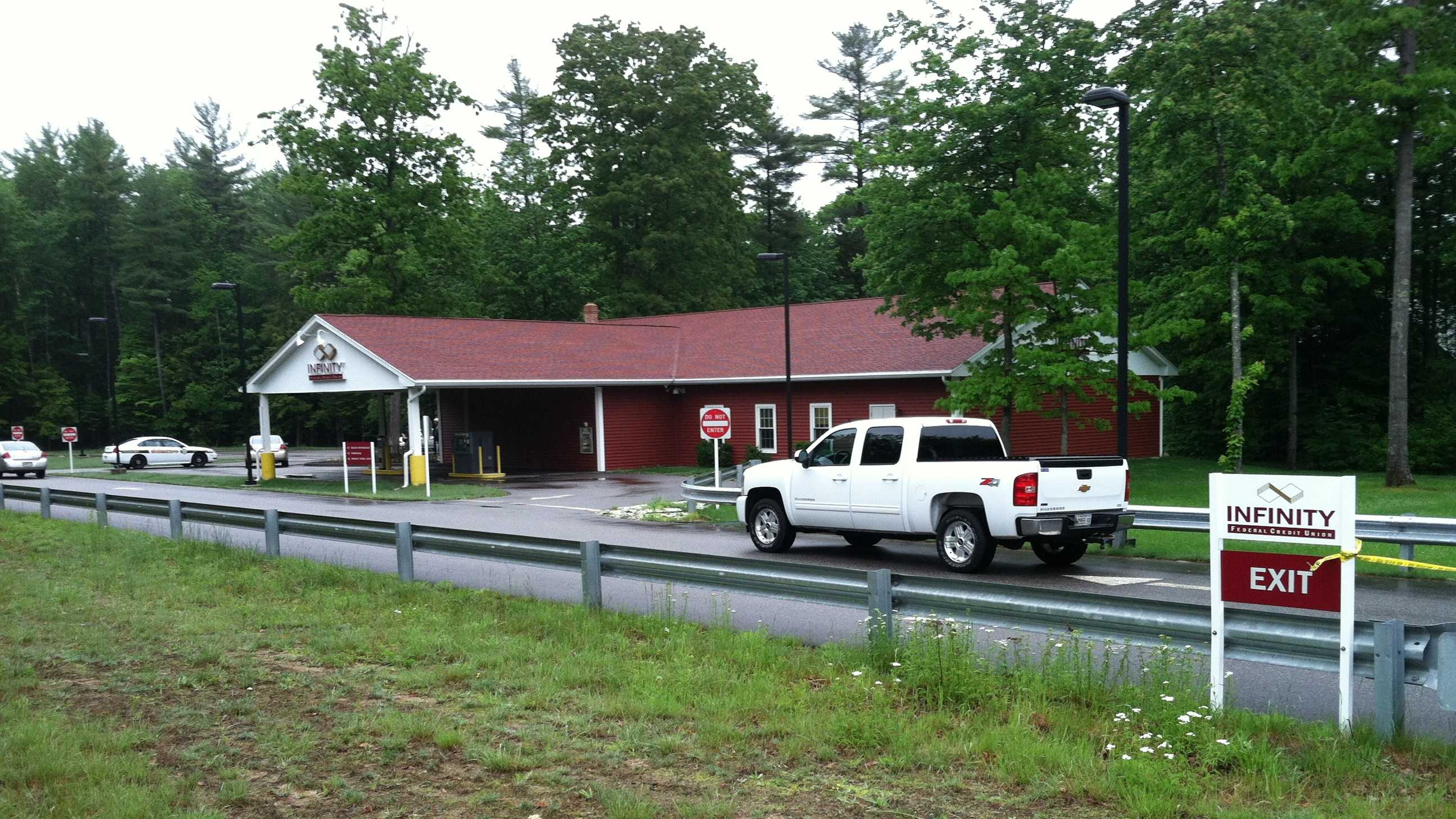 The Infinity Federal Credit Union in Arundel was robbed on May 29.