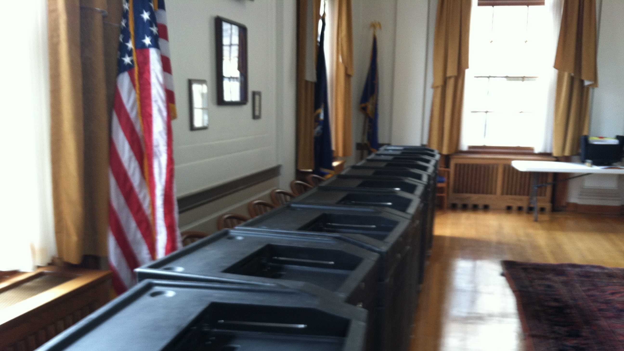 Election officials are expecting low turnout for Tuesday's Primary.