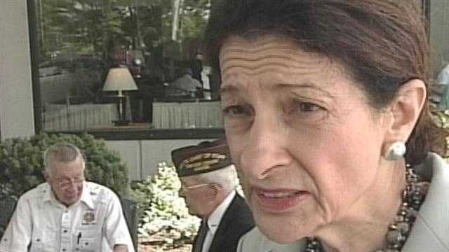 Sen Olympia Snowe speaks out against voter apathy