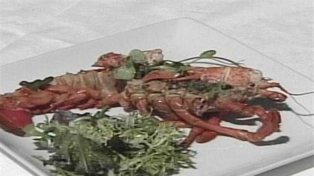 Morning Menu - Grilled Lobster
