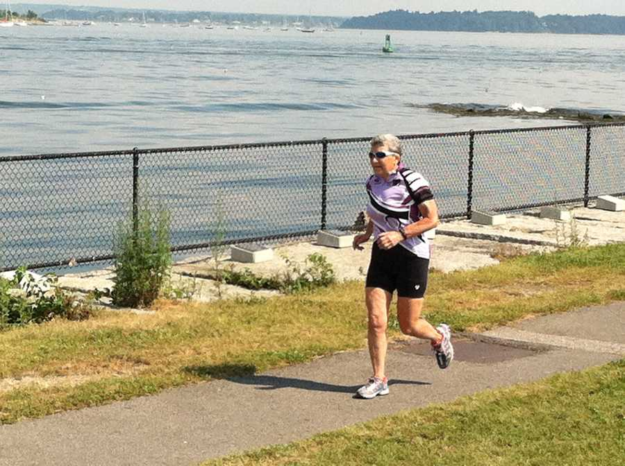 News 8's Norm Karkos brought us the story of a woman not letting her age get in the way of participating in this month's Tri For A Cure. Click here for the story.