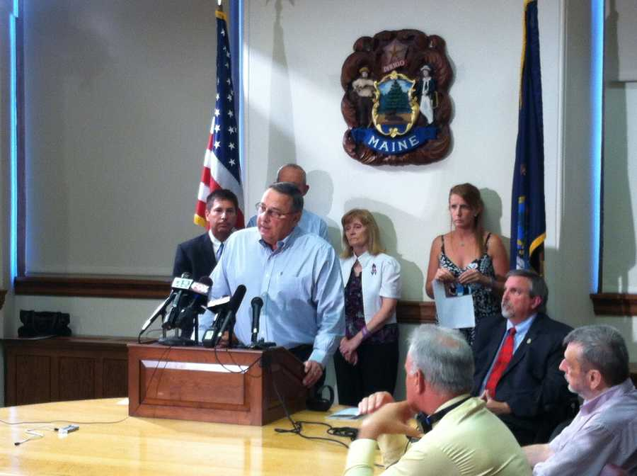 Governor LePage  apologized for comments he made comparing the IRS to the Gestapo. Click here for the story.