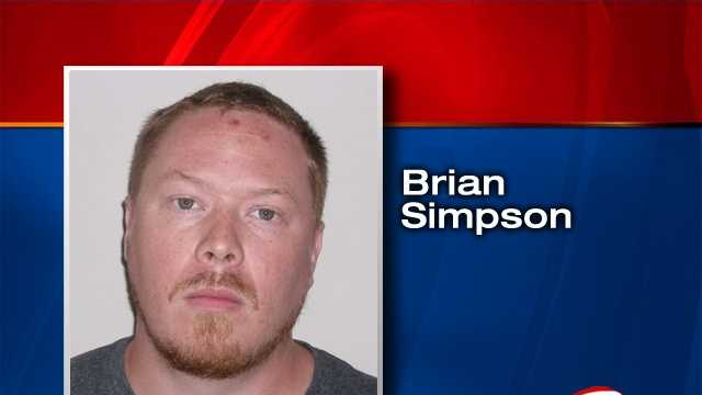 Brian Simpson is charged with first-degree assault.