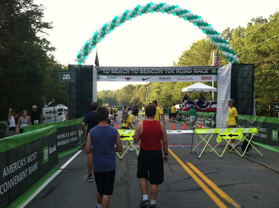 6,000 runners signed up to take part in the 10K.