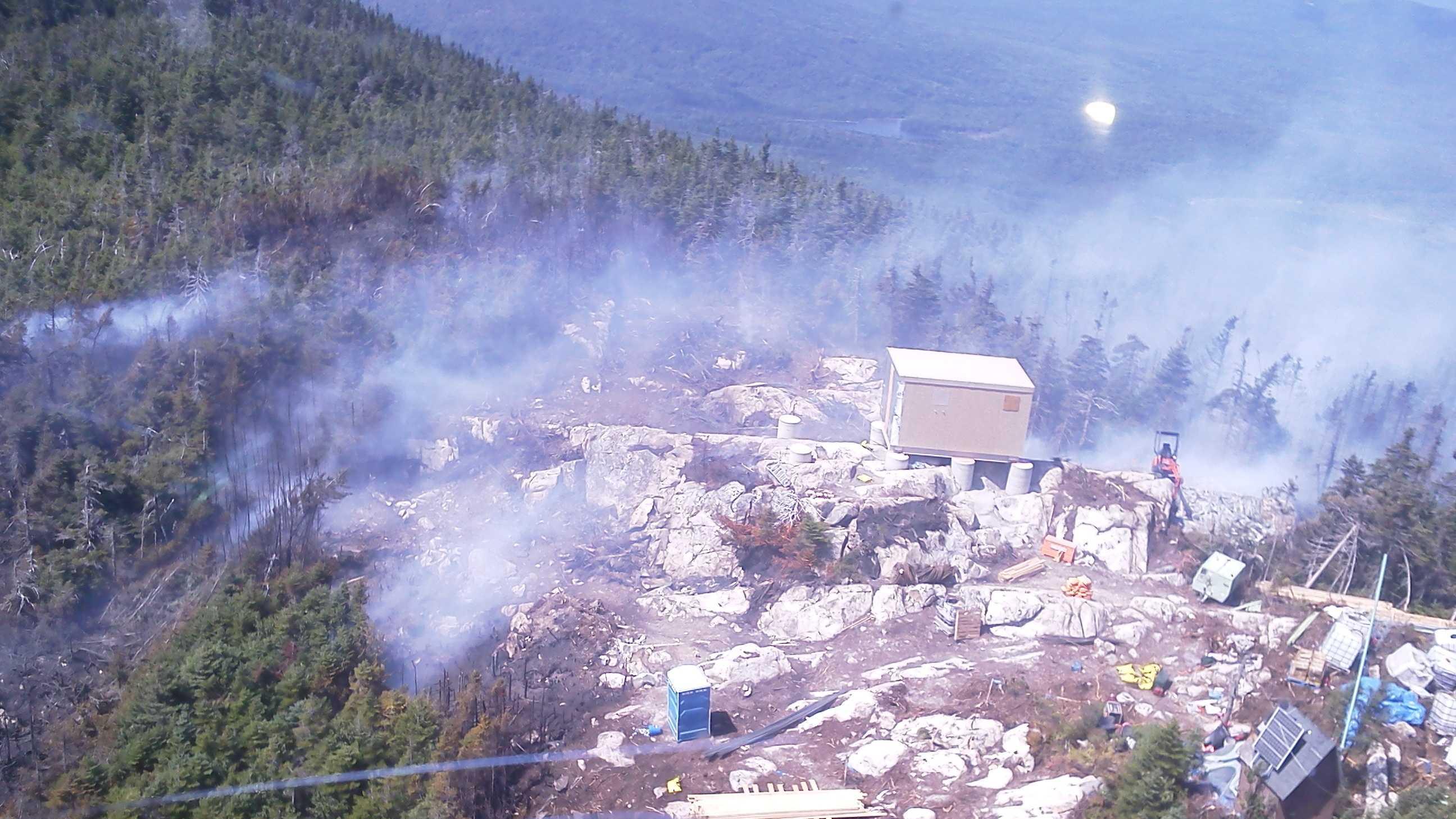 Big Spencer Mountain Fire