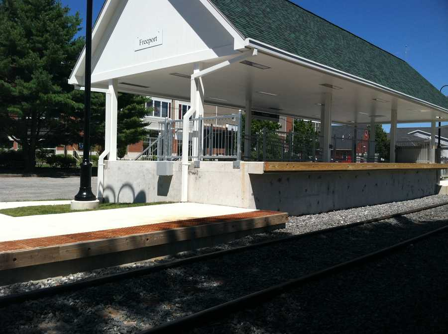 The Downeaster is scheduled to service Freeport with three round trips daily beginning in November.