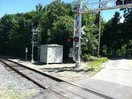 The Federal Railroad Administration requires the use of locomotive horns at all public grade crossing, expect where there is no significant risk to people.