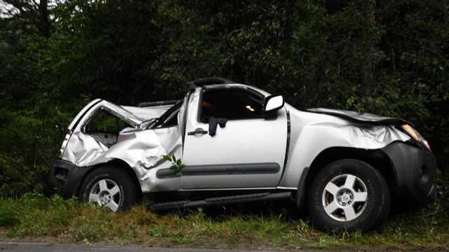 Authorities say the crash happened Friday night on Smithfield Road in Belgrade.