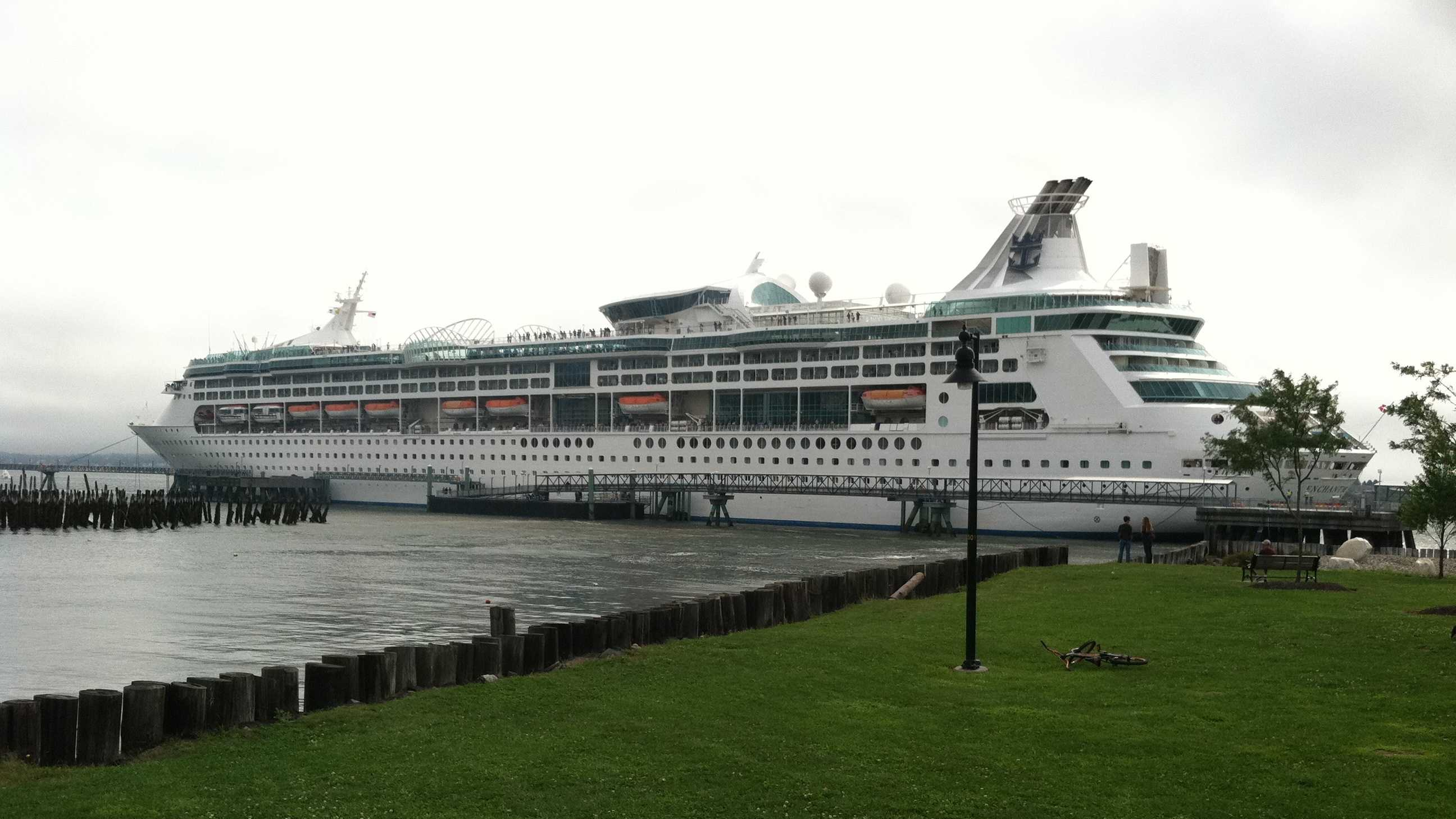 The Enchantment of the Seas is a Royal Caribbean International ship.