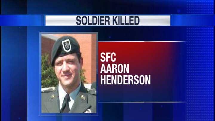 SFC Aaron Henderson