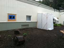 The school was damaged by an early-morning fire on Sept. 17.