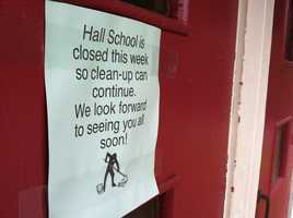 Through the renovation process, officials also found asbestos in the school.